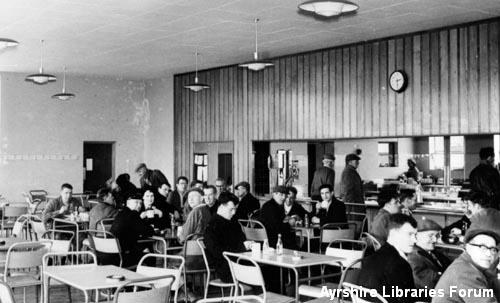 Killoch Colliery canteen