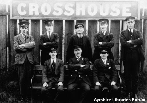 Crosshouse Station staff