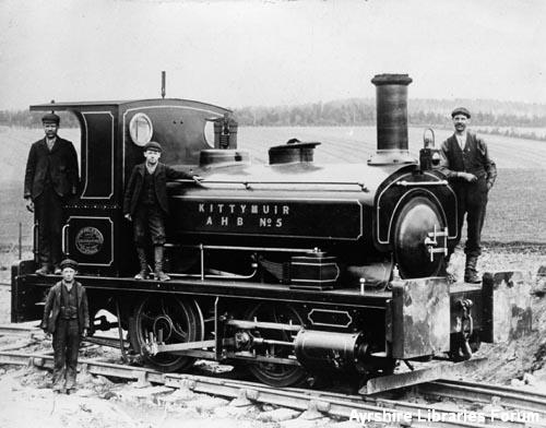 Contractors'  locomotive