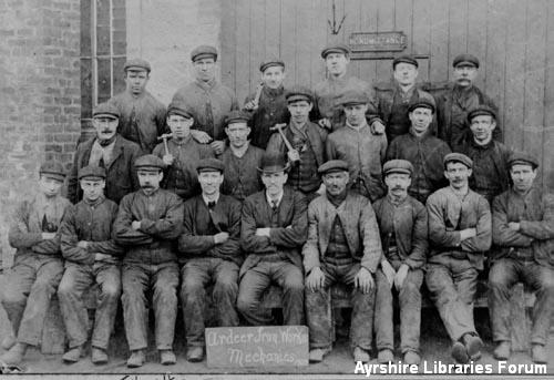 Ardeer Ironworks mechanics