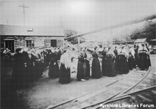 Women workers at  Ardeer