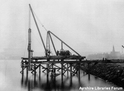 Dock construction, Ardrossan