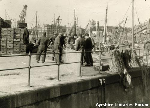 Ayr Harbour Fish Market